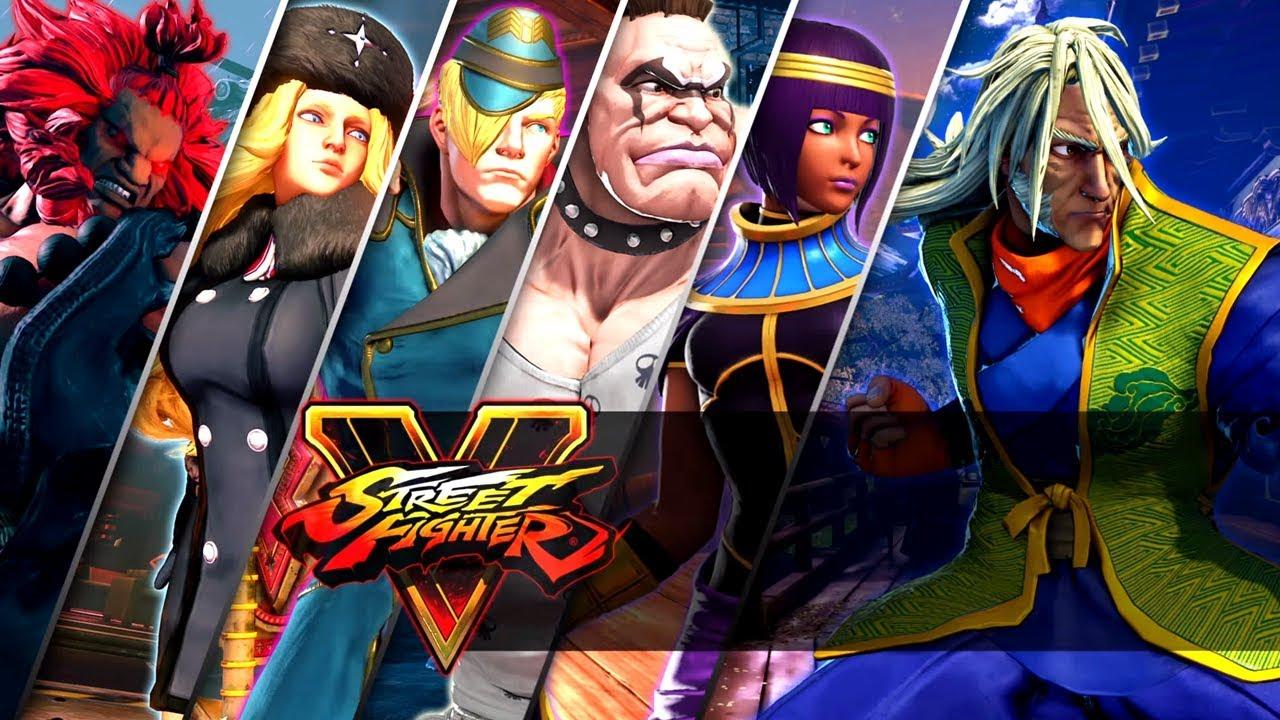 Street Fighter V Zeku Reveal Trailer Season 2 Character Pass