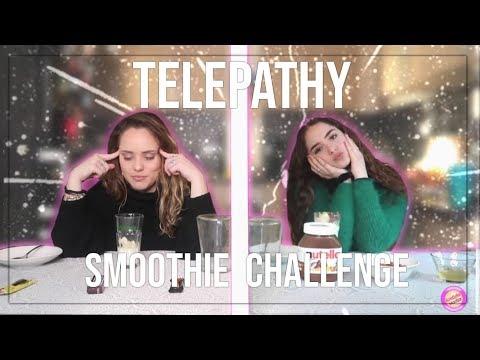 TWIN TELEPATHY SMOOTHIE CHALLENGE