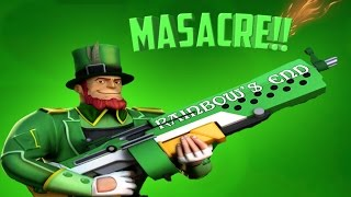 QUE MASACRE!!!///NUEVO PACK-LEPRECHAUM///THE RESPAWNABLES GAMEPLAY