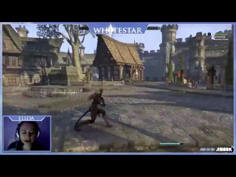 ESO - Exploring, murdering, questing in Kvatch (TwitchTV Livestream)