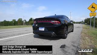 RIPP Performance Exhaust System - 2018 Charger - NON Supercharged
