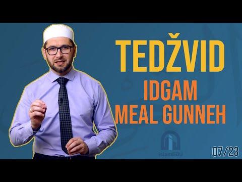 TEDŽVID: IDGAM MEAL GUNNEH - UKLAPANJE SA PROPUŠTANJEM ZRAKA KROZ NOS