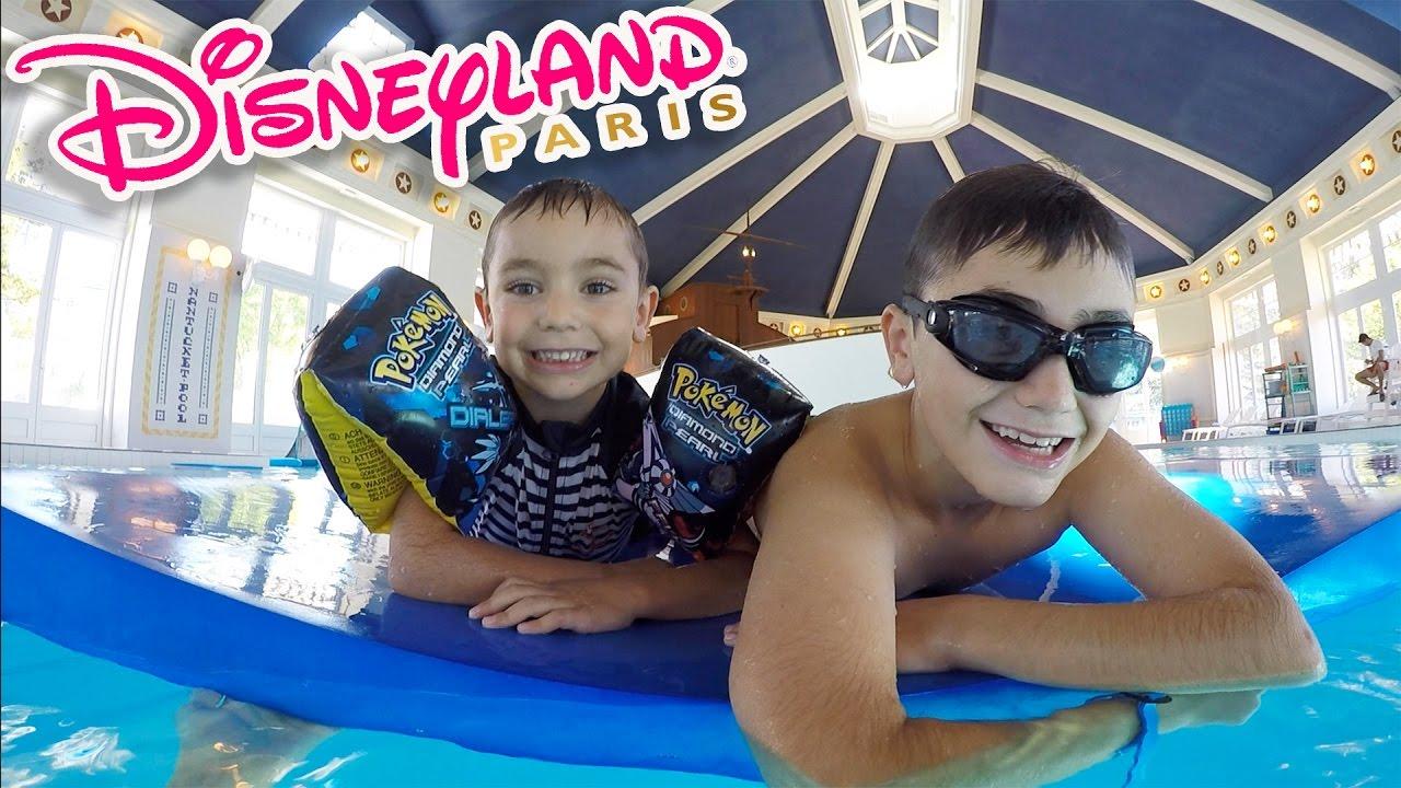 Fun d fis piscine disneyland paris youtube for Swan et neo piscine