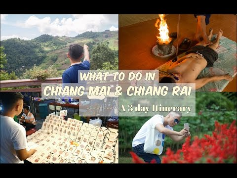 3 Days In Chiang Mai And Chiang Rai (Northern Thailand) Itinerary
