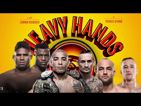 Holloway vs Aldo 2 preview (Heavy Hands #187)