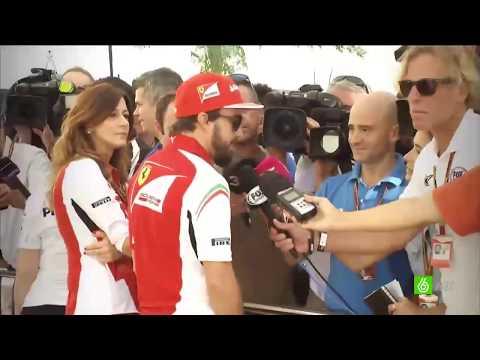 Последняя гонка Фернандо Алонсо за Феррари часть 1.