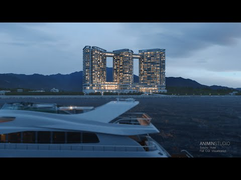 Sokcho Hotel 3D Full CGI Animation / BANYANTREE, CASSIA - ANIMIN STUDIO