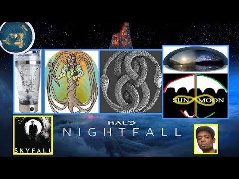 Flat Earth Sky Fall - North Pole Portal, Eastern Star, String Theory & Neith!!!  #FLATEARTH