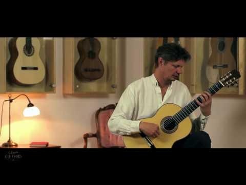 André Cezanne plays Opus 44 No. 23 by Fernando Sor on a 2016 Eduardo Durán Ferrer