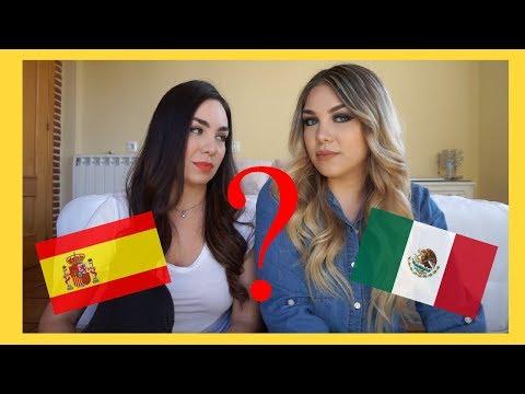 Diferencias entre el español de MÉXICO y el de ESPAÑA