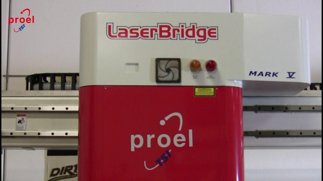 Laserbridge mark v laser machine for cut and engrave applique on