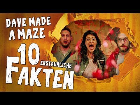 10 erstaunliche Fakten über Dave Made a Maze