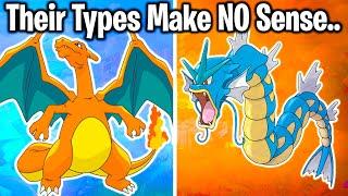 10 POKEMON TYPINGS THAT MAKE NO SENSE! (#1 will make u annoyed at gamefreak)