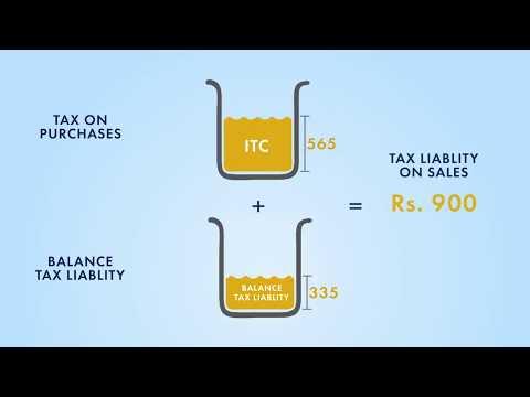 How GST Input Tax Credit Works