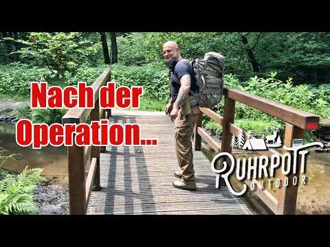 Kurzer Belastungstest nach der OP - Ruhrpott Outdoor 1815
