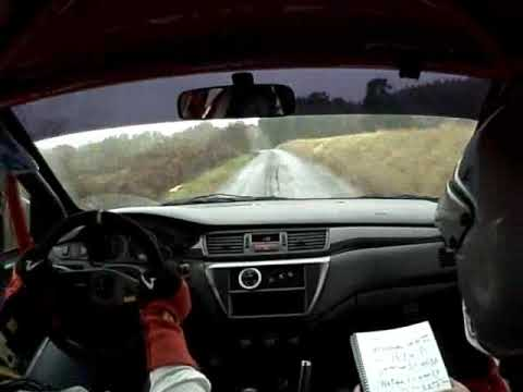 KORNO MOTORSPORT / Ehl - Pecina / test Jablona pred rally Kralovice 09
