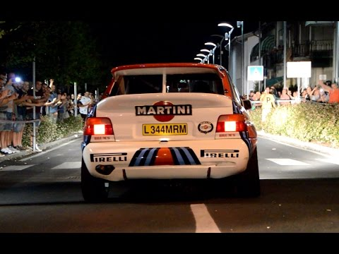 Ford Escort Gr. A + Cosworth: launch, fly bys & pure sound