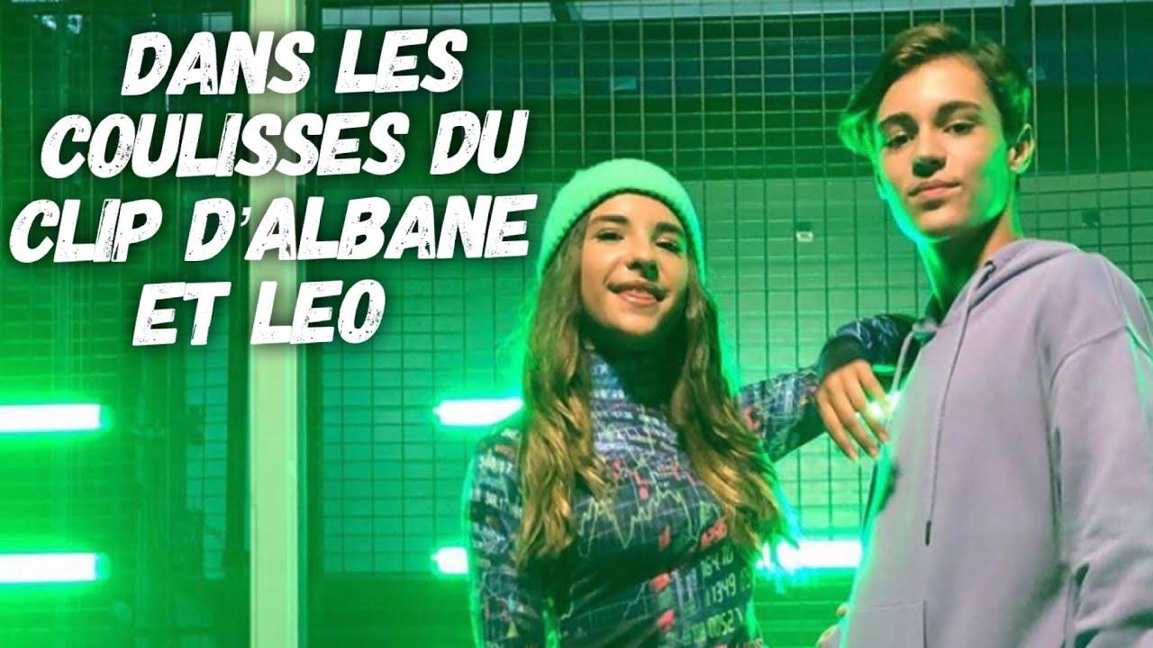 Albane et Léo : les coulisses du clip Don't Know How To Be Your Friend by Seb Avec Ta Star et Romain