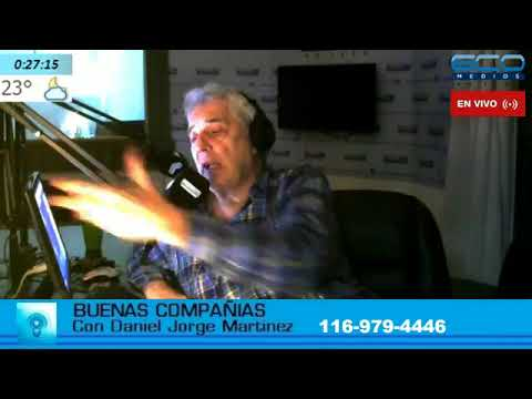 BUENAS COMPANIAS con Daniel Martinez 17-4-2018