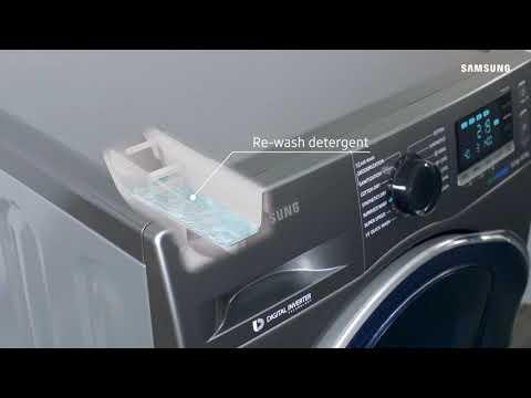 AddWash™ Washing Machine : How to keep detergent tray clean   Samsung