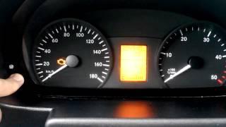 видео как потушить SRS Mercedes Sprinter без диагностического компьютера