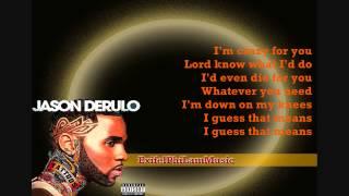 Jason Derulo - Stupid Love (Clean) [Lyric Video] HD