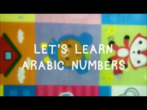 Arabic numbers song