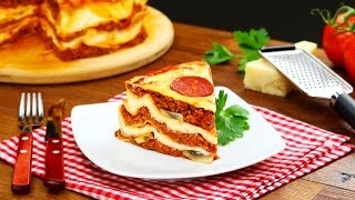Garfield The Cat Would Be Blown Away By This Very Special Kind Of Lasagna. Delicious!