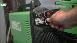 Everlast MIG Welder,Power i-MIG 140 E 120V MIG Inverter Welder Part 3 of 3(Everlast MIG welder part 3 of 3. Final part of three part series covering Everlast's MIG welder the Power iMIG. Demonstrates setting up MIG welder and dialing in ..., 2014-09-26T13:58:09.000Z)