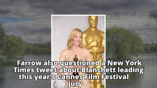 Dylan Farrow calls hypocrisy on Blake Lively, Cate Blanchett for working with Woody Alle