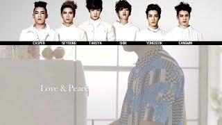 CROSS GENE Love Peace MV Lyrics Color Coded KanjiRomEng