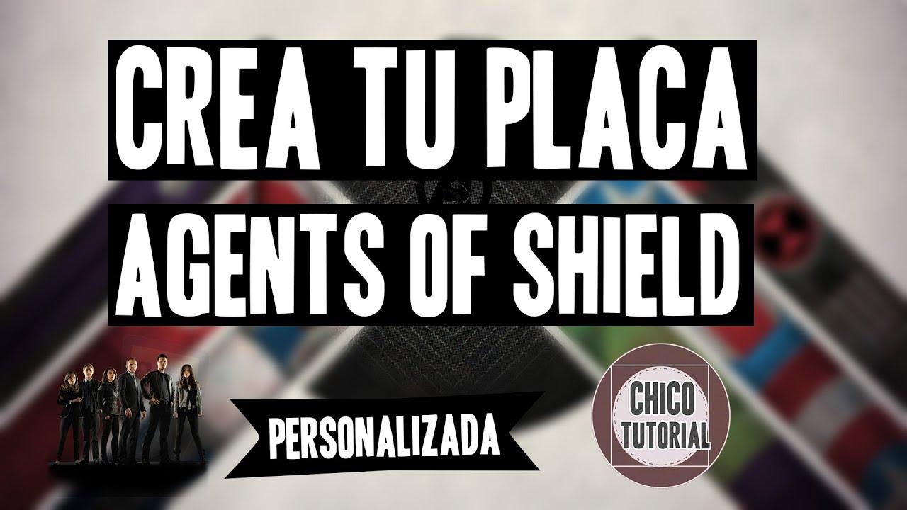 Agents of SHIELD | Crea tu Placa (PSD) - YouTube