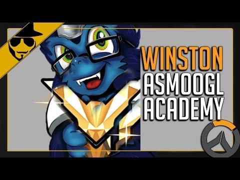 Overwatch - Winston | aSmoogl Academy [Ranked Training] #4