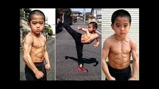 Next Bruce Lee kids - Incredible Ryusei Imai 6 Year Old -The Strongest Kids In The World