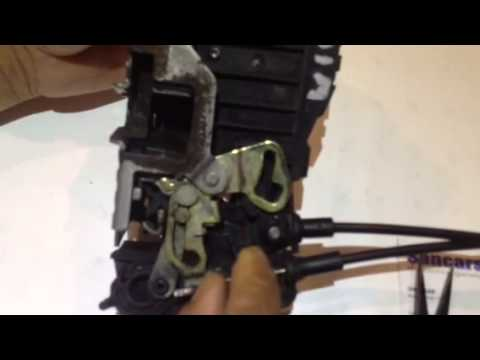 Mercedes Ml W163 Door Lock Actuator Repair Youtube