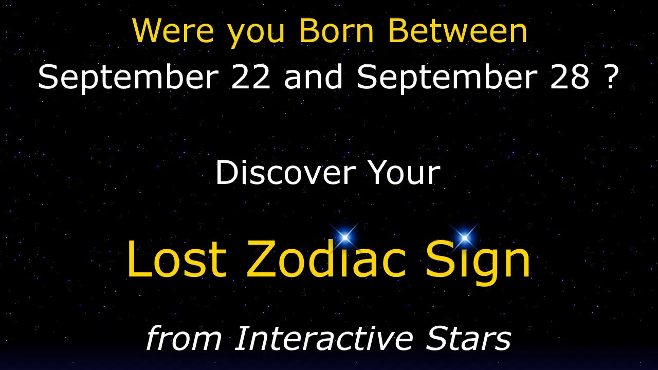 Born Between Sep 22 Sep 28 Discover Your Ancient Star Sign Beyond The Zodiac By Catherine Tennant Youtube