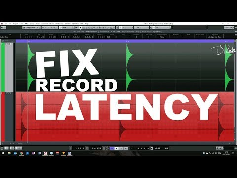 How to: FIX RECORD LATENCY SHIFTS IN CUBASE (Part #1)