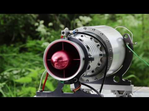 Worlds FIRST axial flow model jet engine