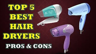 Top 5 Best Hair Dryers with Price - Review with Pros & Cons [Hindi]