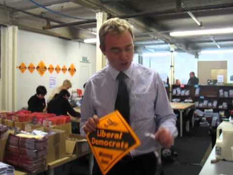 Tim Farron in Oldham East and Saddleworth