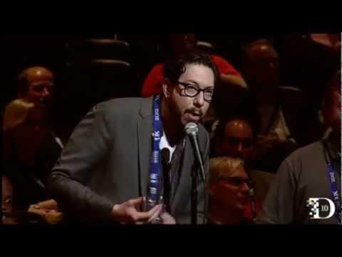 Ari Emanuel yelling at Josh topolsky at D10