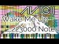[Black MIDI] Avicii - Wake Me Up - 223K Notes