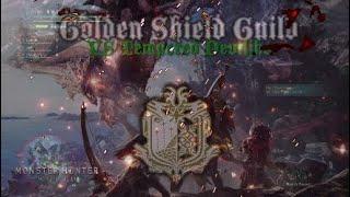 MHW Golden Shield Guild VS Tempered Deviljho