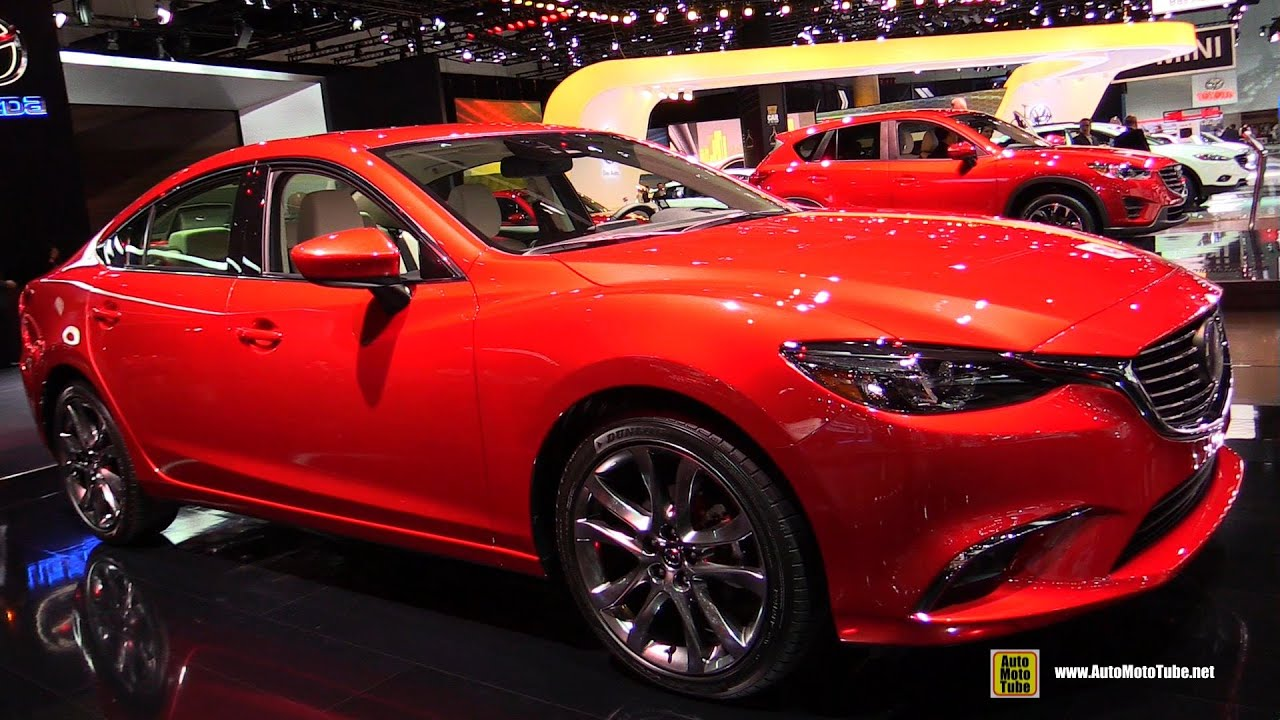 2016 mazda 6 grand touring exterior and interior walkaround debut at 2014 la auto show youtube. Black Bedroom Furniture Sets. Home Design Ideas