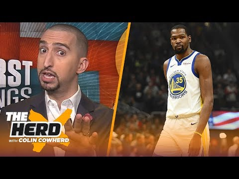 Nick Wright on Kevin Durant throwing shade at LeBron, talks paying Dak Prescott and more | THE HERD