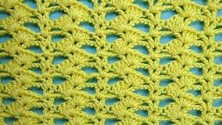 Ажурный узор крючком Crochet pattern 88
