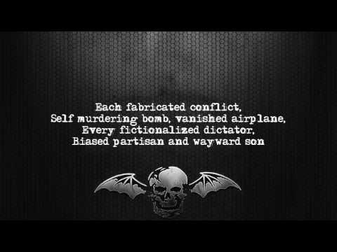 Avenged Sevenfold - Exist [Lyrics on screen] [Full HD]