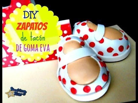 Goma Tacón Zapatos EvaPaso Youtube De A y6Ybgvf7