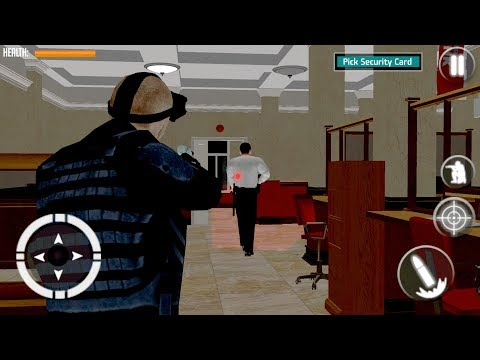 Secret Agent Spy Game Bank Robbery Stealth Mission (by Vinegar Games) Android Gameplay [HD]