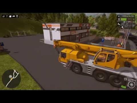 Construction Simulator 2015 Gameplay Episode 1 (Earlier Load On Hook) |